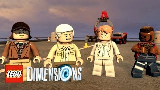 LEGO Dimensions - How To Unlock Hannibal, Face And Murdock (The A-Team)