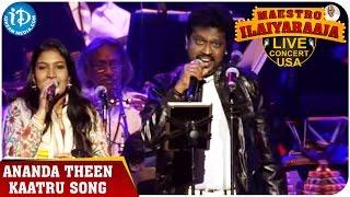 Maestro Ilaiyaraaja Live Concert - Ananda Theen Kaatru Song - Ilaiyaraaja || San Jose, California