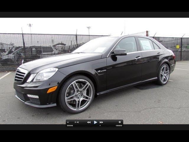 2012 Mercedes-Benz E63 AMG Biturbo Start Up ... - YouTube