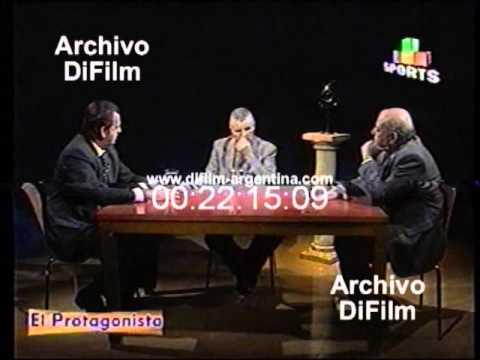 DiFilm - Luis Artime en el Programa El Protagonista (1999)
