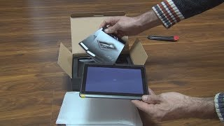 Unboxing of Yarvik Luna 7c Android tablet