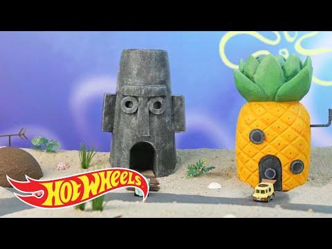 The SpongeBob Squarepants Bikini Bottom Bandit Strikes Again   Hot Wheels