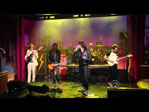 The Strokes - Taken For A Fool (Live @ Letterman)