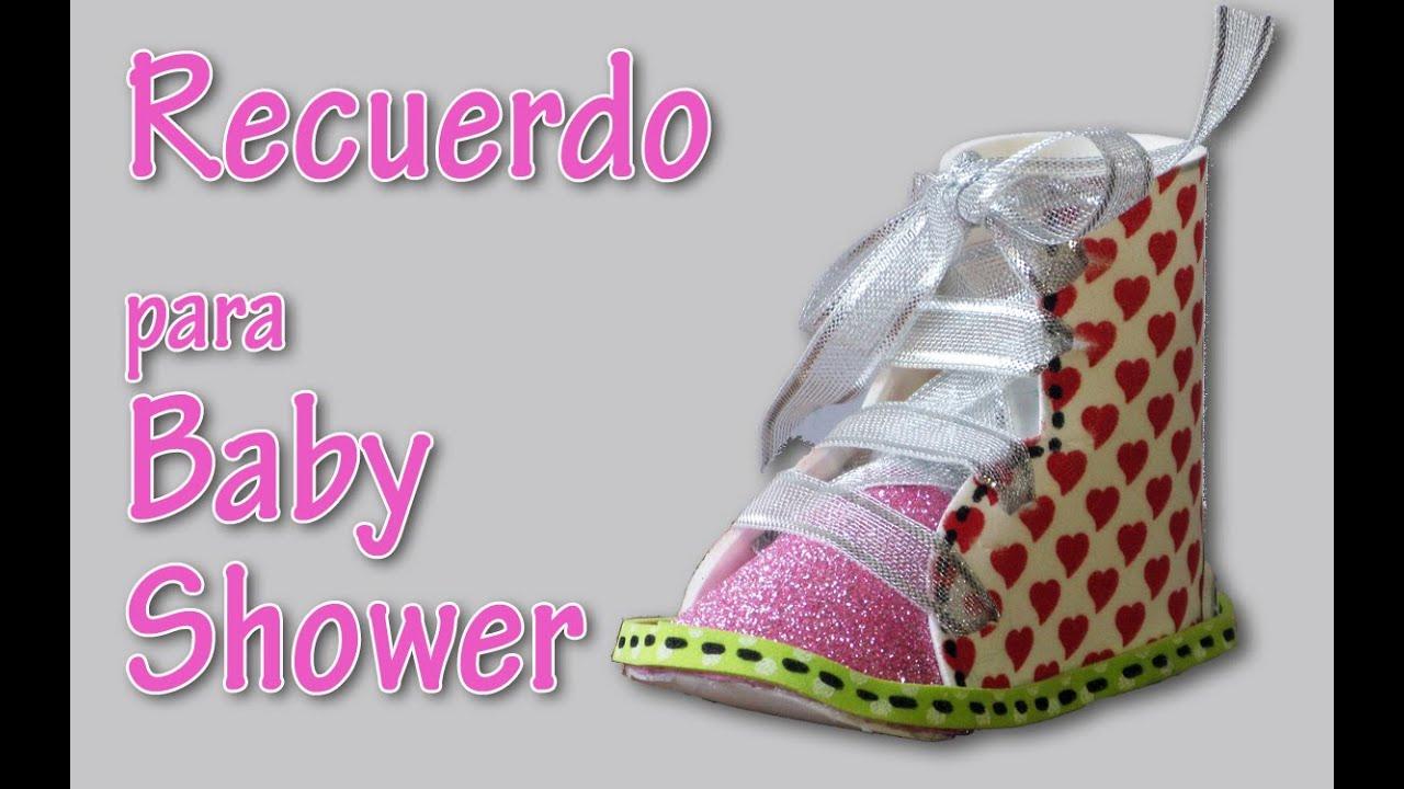 manualidades recuerdo para baby shower manualidades para todos