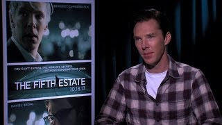 Benedict Cumberbatch Was Concerned to Play WikiLeaks Founder Julian Assange | POPSUGAR Interviews