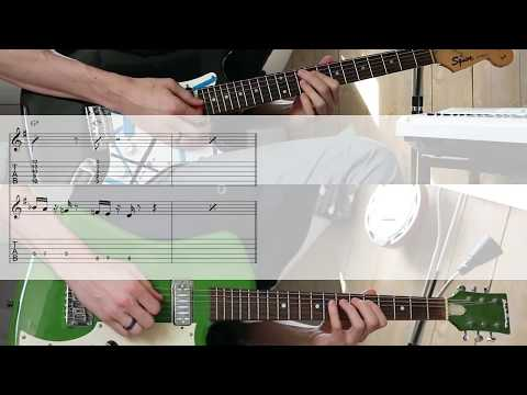 Average White Band - Cut the Cake TABS in video guitar cover amp lesson