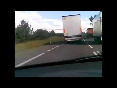 Fast truck drivers in Poland & Eastern Europe.JAZDA DO SPODU ! Long distance lorry drivers