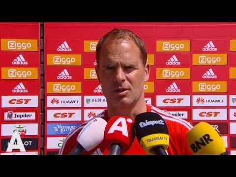 Frank de Boer en Ajax gaan uit elkaar