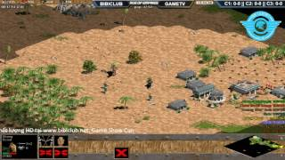 AOE || 4vs4 Team BiBiclub vs Team Game TV NGÀY 30/05/2017
