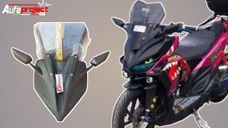 Tutorial pemasangan Kedok Honda new Vario 125/150 #Modifikasi_Honda_Vario