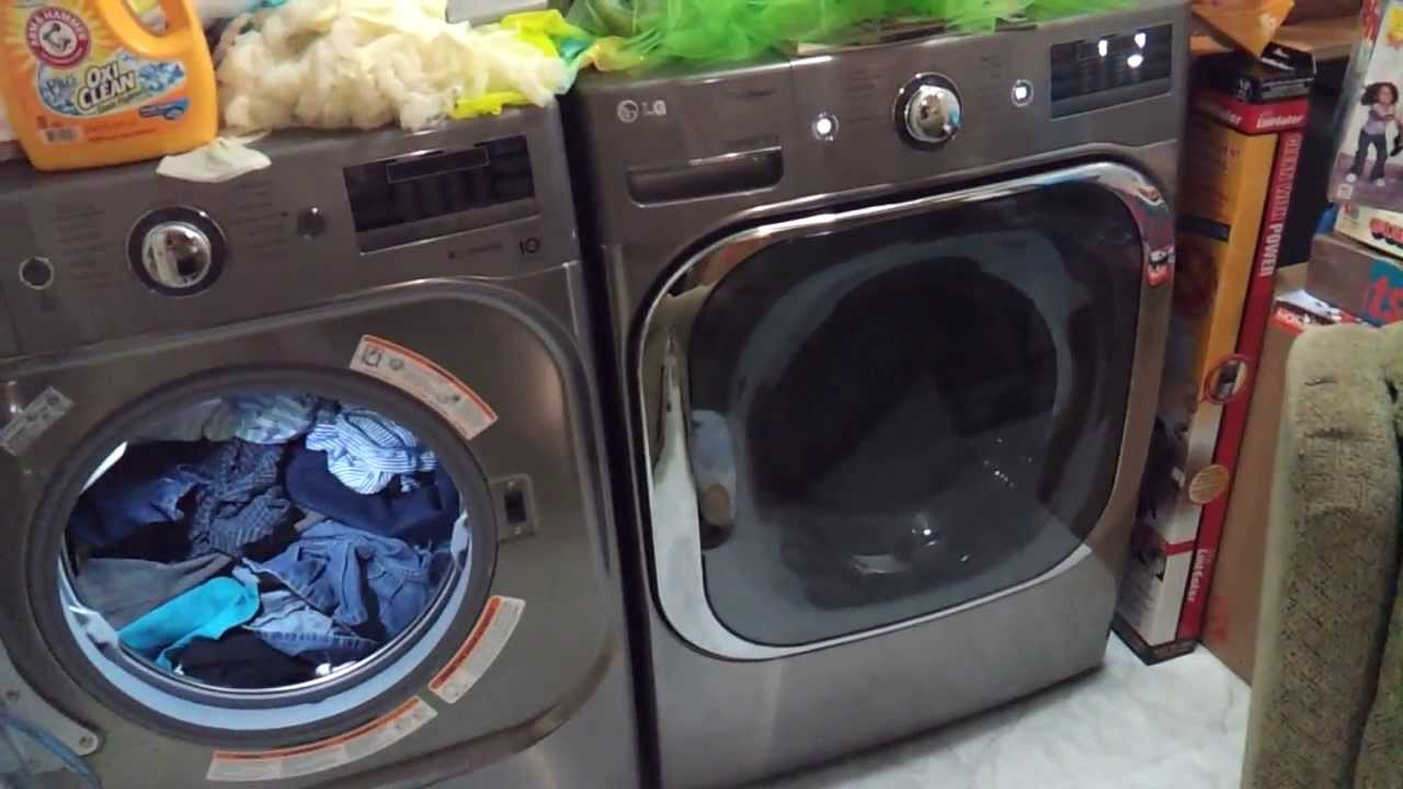 Lg 5 1 Washer And Dryer Wm8000hva Honest Review Youtube