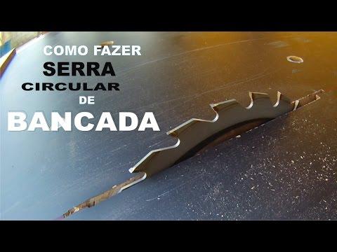 COMO FAZER SERRA CIRCULAR DE BANCADA