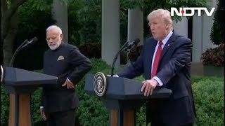 PM Modi, President Trump's Joint Statement To Media At White House