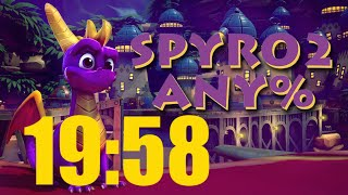 "Spyro Reignited Trilogy ""Spyro 2 - Any%"" speedrun in 19:58 [WR]"