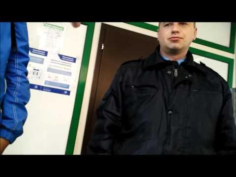 Незаконное вымогательство денег на выход охраной РЖД (пл. Серп и Молот)
