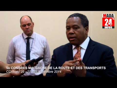 5ème Congrès Malgache de la Route et des Transports : Bilan de Roland Ratsiraka (Version Malgache)