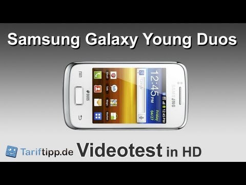 Samsung Galaxy Young DUOS   Test in HD (deutsch)