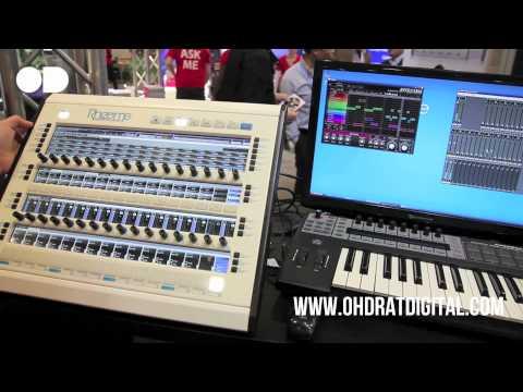 Rhizome Music Production Workstation Demo (Musikmesse 2011)
