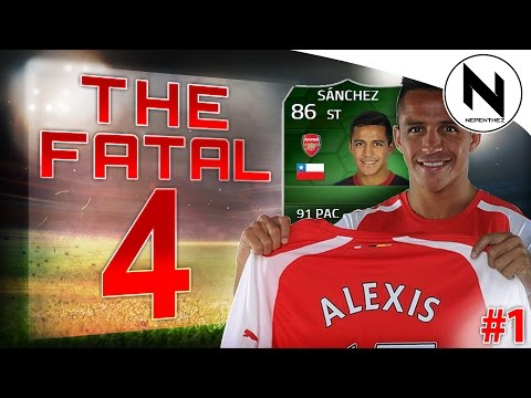 THE FATAL 4 - iMOTM Alexis Sanchez! - FIFA 14 01
