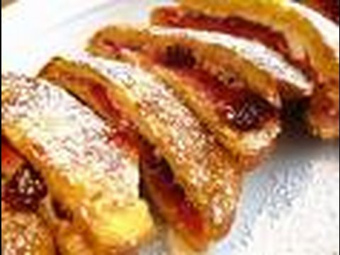 Stuffed French Toast! So Good & So Easy!!