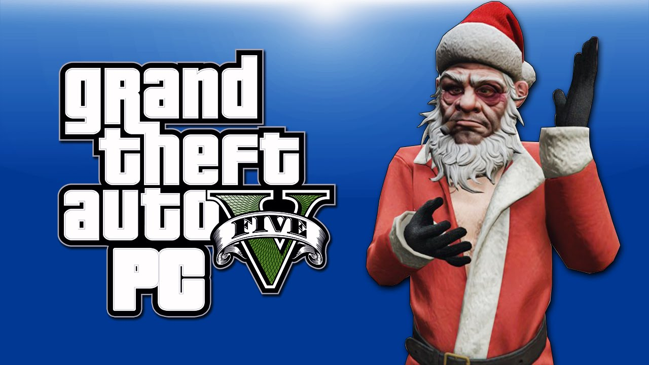 GTA 5 PC Online Funny Moments - XMAS DLC! Santa, Shopping, Yacht Dive Glitch! (BEFORE THE SNOW!)