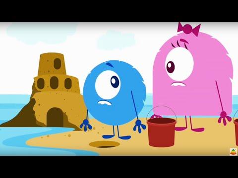 Твой друг Бобби - Замок из песка - мультфильмы детям - серия 32