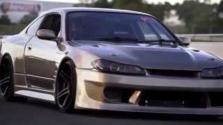 The Best Drift Of V8 Swap Nissan Silvia.