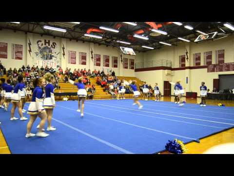 King George High School @ The Conference 22 Cheer Tournament