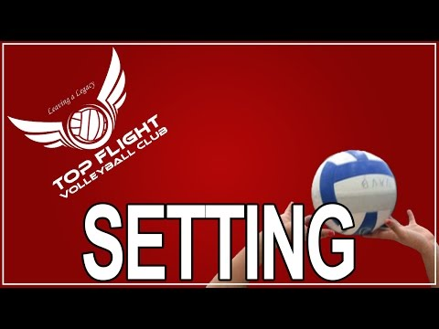 Volleyball How To: Basic Setter Training