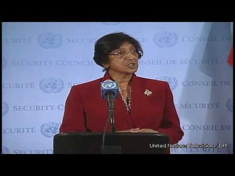 Stop militarization of Syria - Navi Pillay UN Human Rights Chief
