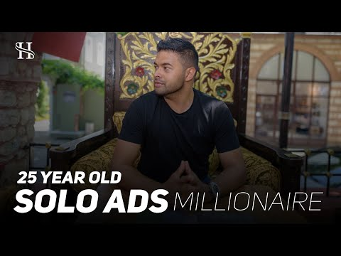 25 yr Old Solo Ads Millionaire Shaqir Hussyin Interview Reveals The TRUTH