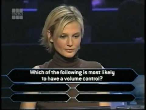 Bridget Hall on Who Wants to be a Millionaire Supermodel Edition