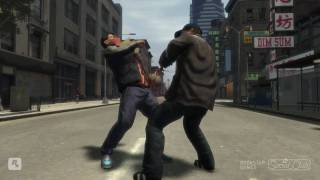 GTA 4 - Detailed Fights HD (720p)