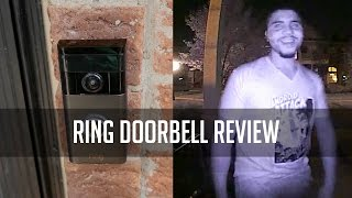 RING Video Doorbell Review  | Smart Video WiFi Doorbell