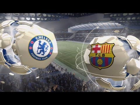 FIFA 13 Xbox 360 Gameplay HD Chelsea FC vs. FC Barcelona