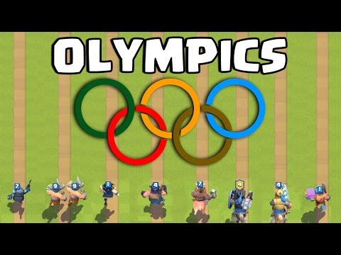 Clash Royale Olympics | Who's the Fastest ? thumbnail