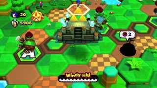 [Sonic Lost World] The Legend of Zelda Zone DLC Gameplay