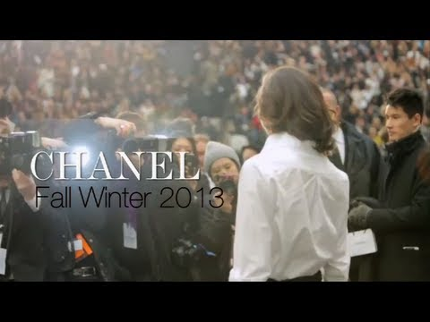 CHANEL FALL 2013 by KARL LAGERFELD Backstage/Front Row | MODTV