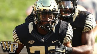 Wake Forest DB Essang Bassey Top Plays 2018