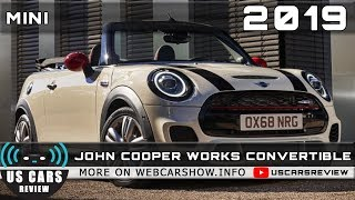 2019 MINI JOHN COOPER WORKS CONVERTIBLE Review Release Date Specs Prices