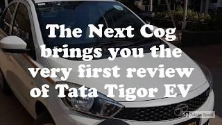 Tata Tigor EV - the Electric Tata Tigor Review