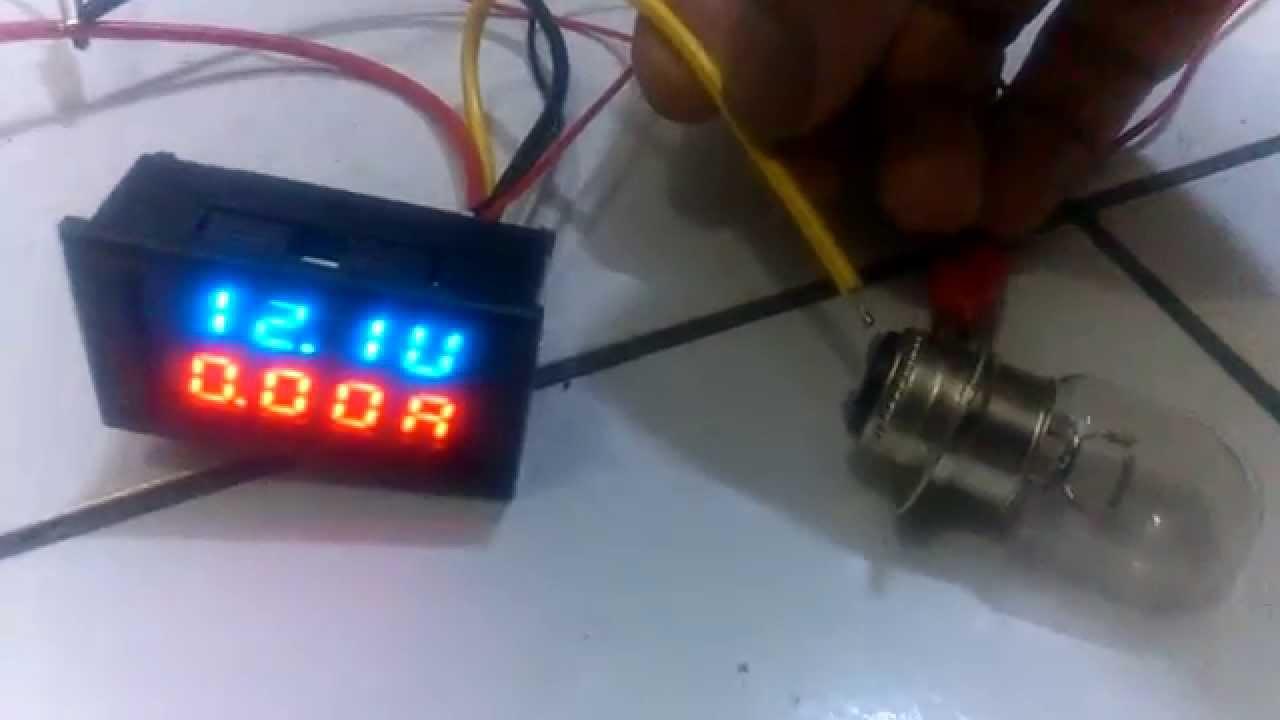 Dc 0v-100v  10a  Dual Led Digital Voltmeter Ammeter Voltage