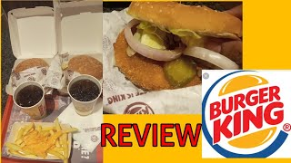 BURGER KING veg Whopper  burger INDIAN STYLE REVIEW