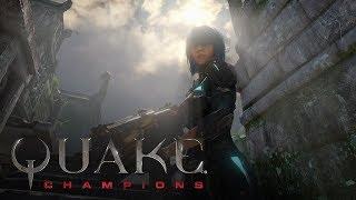 Quake Champions EA Обзор  I7 7700 GTX1060