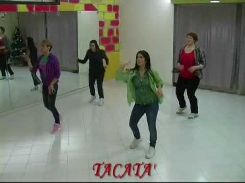 Tacabro' - Tacata' - Romano E Sapienza, Balli Di Gruppo 2012 , Juanny Dance video