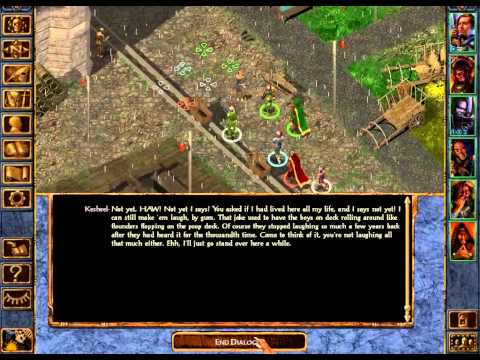 Let's Play Baldurs Gate Enhanced Edition 39: Streets Paved with Gold Coins