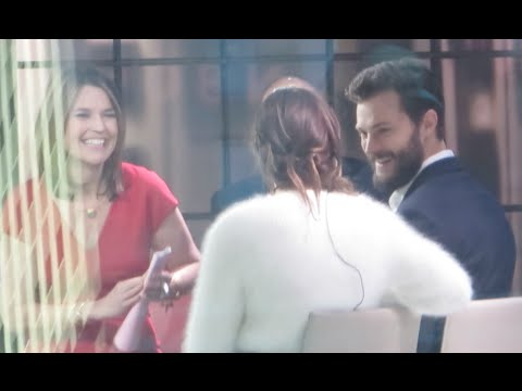 Jamie Dornan and Dakota Johnson talking about Fifty Shades of Grey Interview on Today Show
