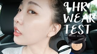 Bobbi Brown膠囊氣墊粉底9小時實測Cushion Foundation 9 hr Wear Test