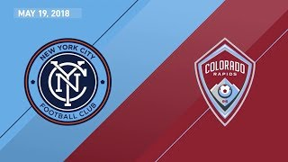 HIGHLIGHTS: New York City FC vs. Colorado Rapids | May 19, 2018