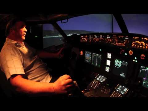 James Price builds a flight simulator in his Pleasanton, California garage